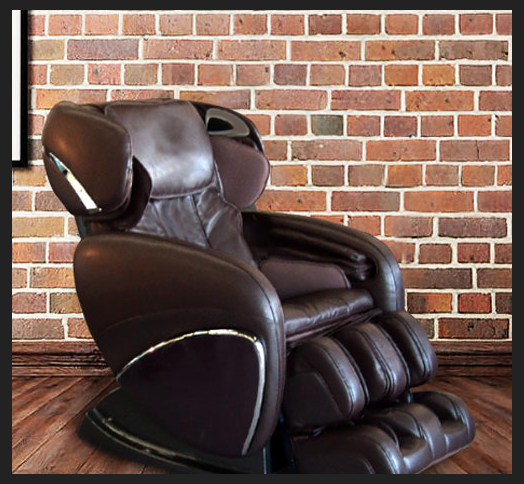 Massage chair recliner back and legs massage