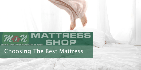 Choosing the best mattress type - Picking the right matress ...
