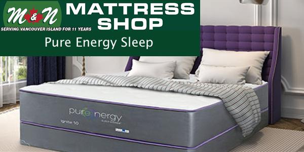 Pure energy mattresses help you sleep