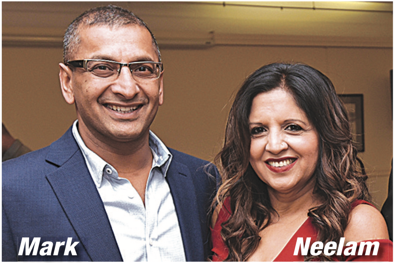 mark and Neelam