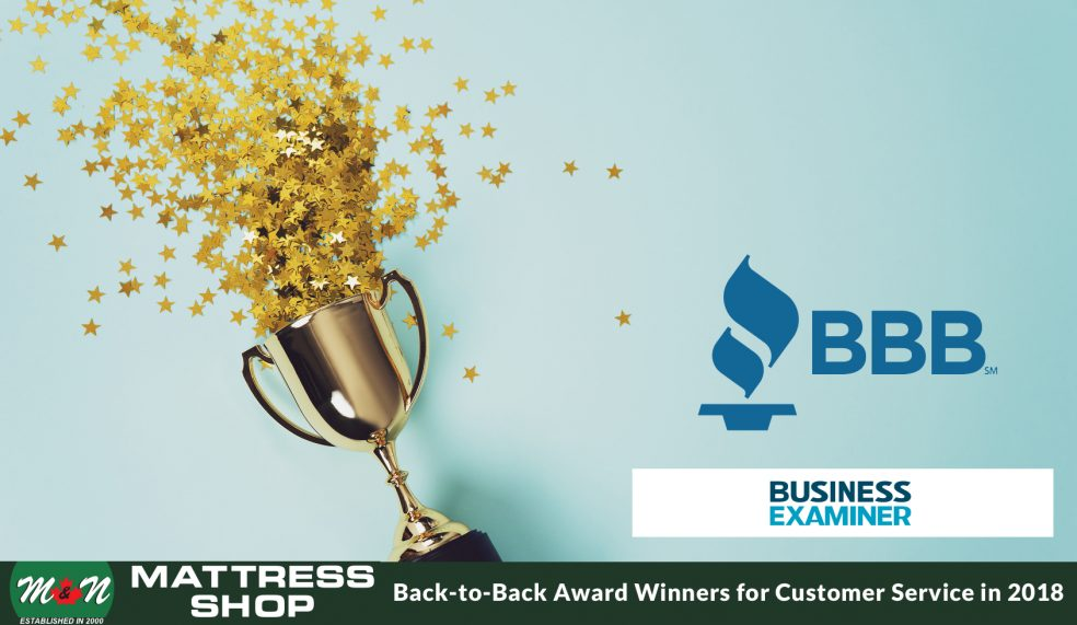 Back-to-Back Award Winners for Customer Service in 2018